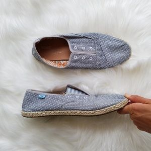 Toms Womens Classic Slip On Espadrille Loafers